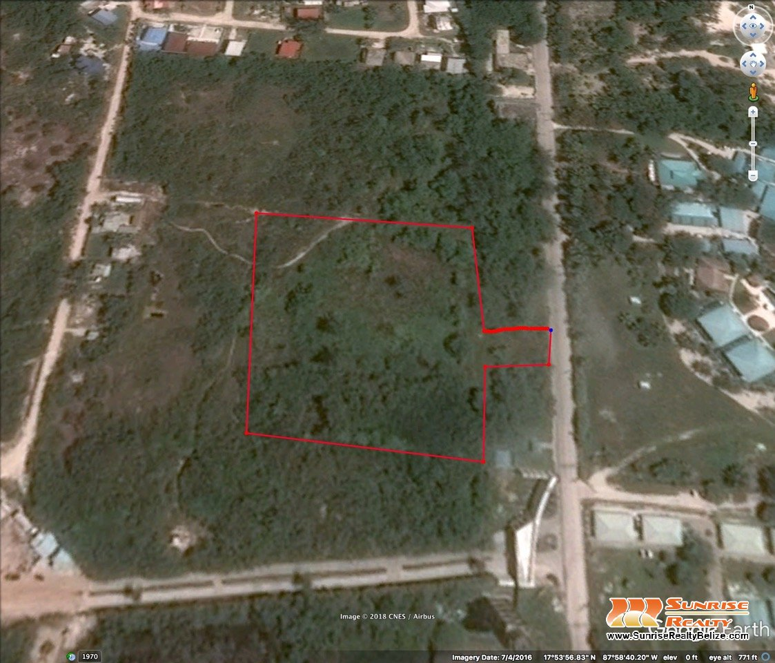 2.2 acres development site – all utilities available