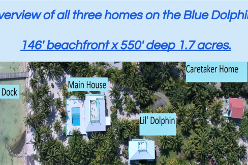 Blue Dolphin Beach Villa property map