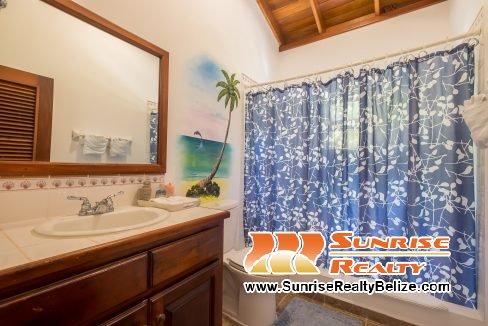 Blue Dolphin Beach Villa Main House Guest Bath