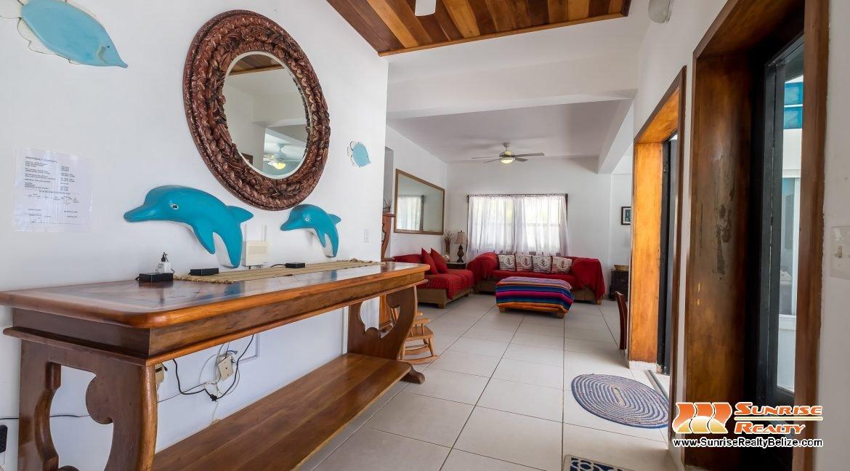 Blue Dolphin Main House Entry