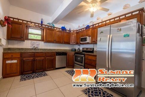 Blue Dolphin Main House Kitchen