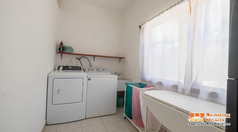 Blue Dolphin Beach Villa Laundry Room