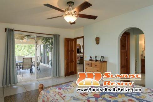 Heron' Rest Master Bedroom and Veranda