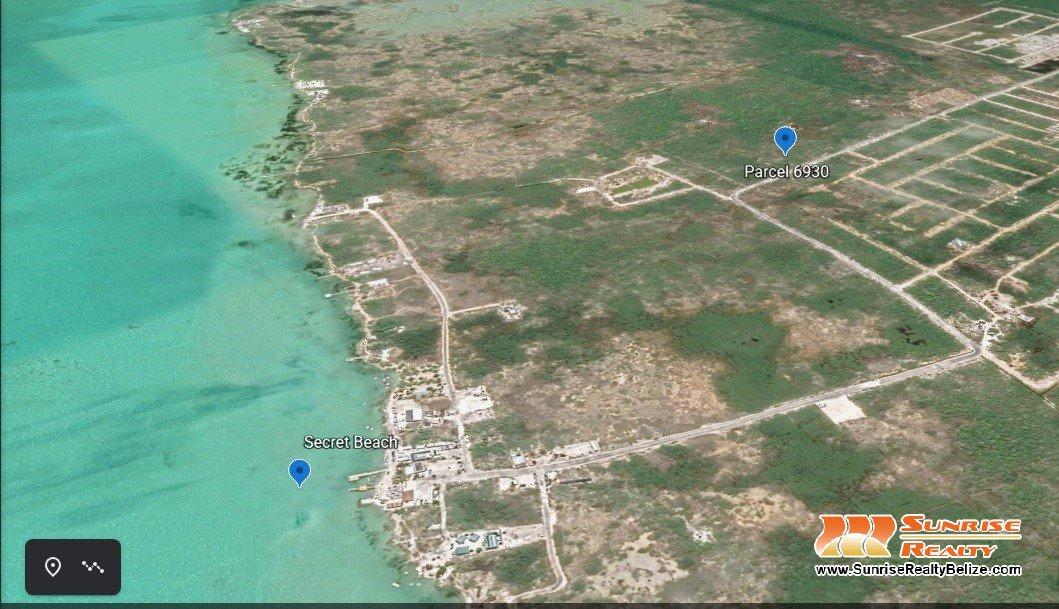 Main Road Lot Near Secret Beach