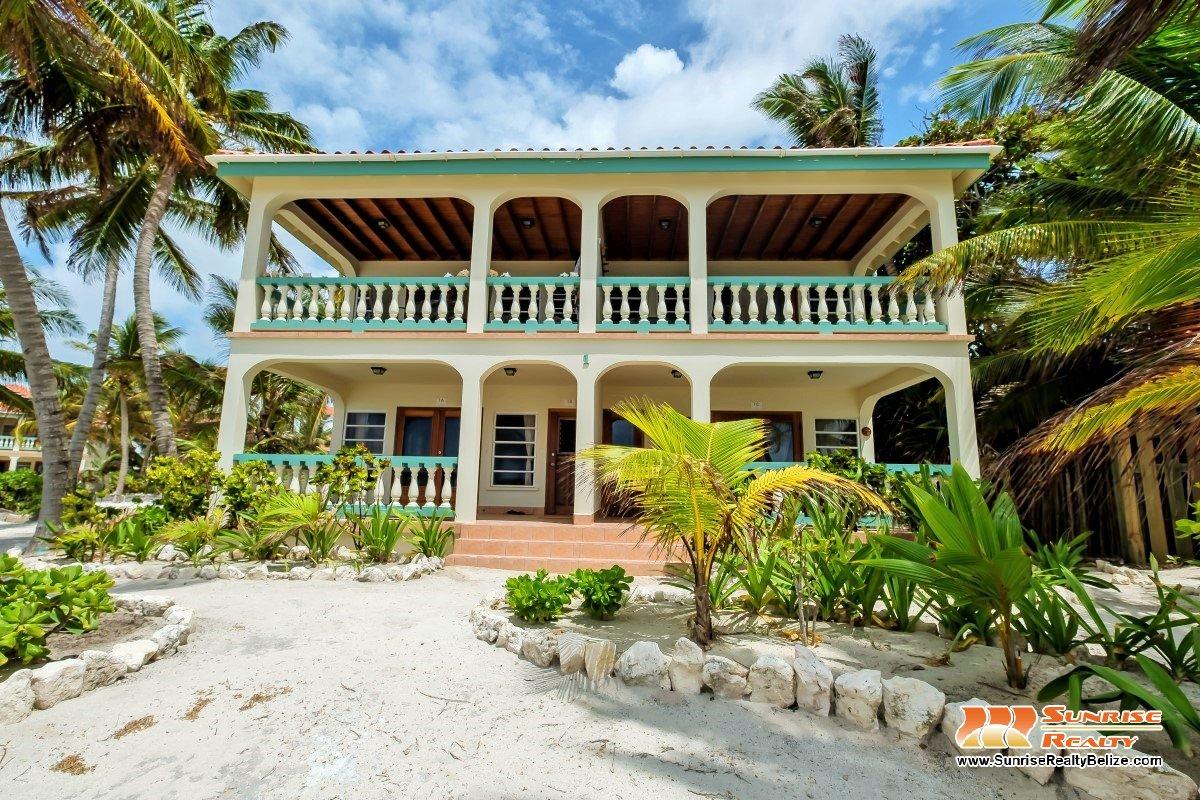 Belizean Shores Resort 1C – Direct Beachfront Unit